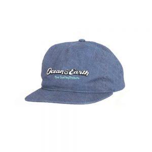 Heritage-Corduroy-Cap-Blue
