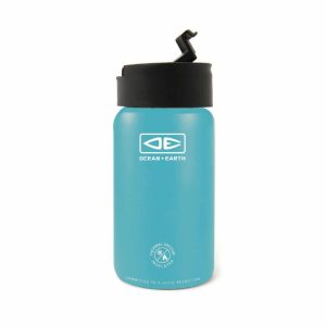 Insulated-Flip-Lid-Coffee-Mug-350ml-Blue