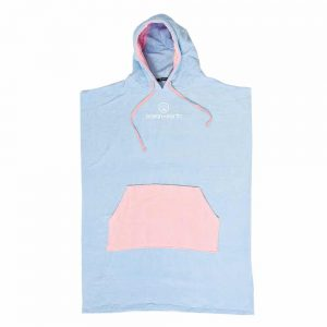 Ladies-Day-Dream-Hooded-Poncho-Pale-Blue