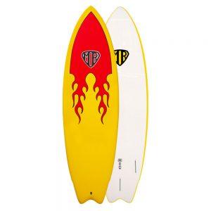 Mr-Epoxy-Soft-Super-Twin-Fin-Surfboard-Flames