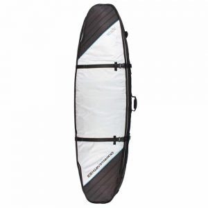 Triple-Coffin-Shortboard-Board-Cover-Silver
